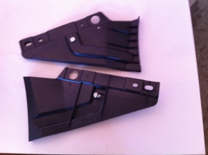 3302-2803060-30 3302-2803061-10 кронштейн крепления бампера боковой (правый,левый) ГАЗель Бизнес